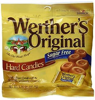 Werther s Original Sugar Free Hard Candies 1.46 Oz  3 Pack