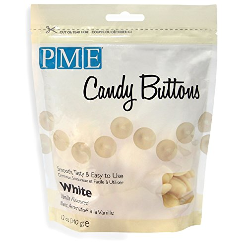 PME 12oz WHITE VANILLA Candy Button Melts Pops Sugarcraft Cake Decoration Dip