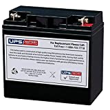 DuroMax XP12000E Portable Generator, 12000-Watt Compatible Replacement Battery by UPSBatteryCenter