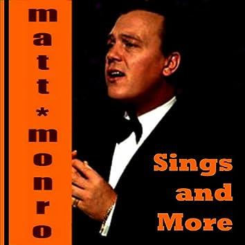 Matt Monro Sings and More