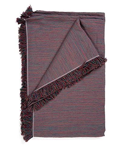 Mehrzweck-Tagesdecke: Plaid Sofa, Tagesdecke, Bettüberwurf, Überwurf für Sofas aus Baumwolle & andere Fasern, hochwertige Verarbeitung, (mehrfarbig, meliert, 230 x 260 cm)