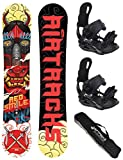 airtracks Kit Snowboard/Red Smile Snowboard Hybrid Rocker + Star ou Reliure Master...