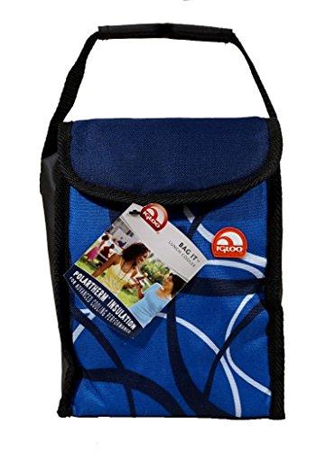 Igloo Insulated Lunch Bag Blue