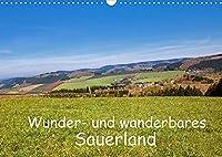 Wunder- und wanderbares Sauerland (Wandkalender 2022 DIN A3 quer): Schoenheiten der Sauerlaender Landschaft beim Wandern entdeckt von der Fotografin Brigitte Duerr (Monatskalender, 14 Seiten )