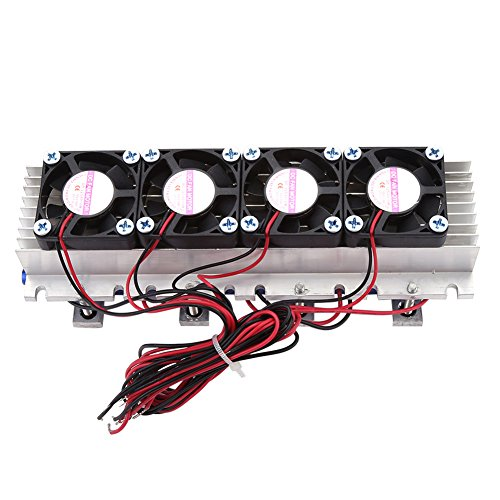 Peltier Module DIY Thermoelectric Cooler Refrigeration Air Cooling Device 4-Chip TEC1-12706 12V Peltier Cooler Semiconductor Water Chiller TEC