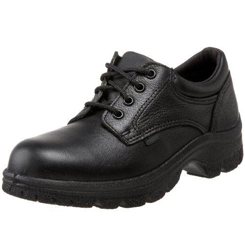 Thorogood 534-6905 Women's Soft Streets Series Plain Toe Oxford, Black - 11 B(M) US