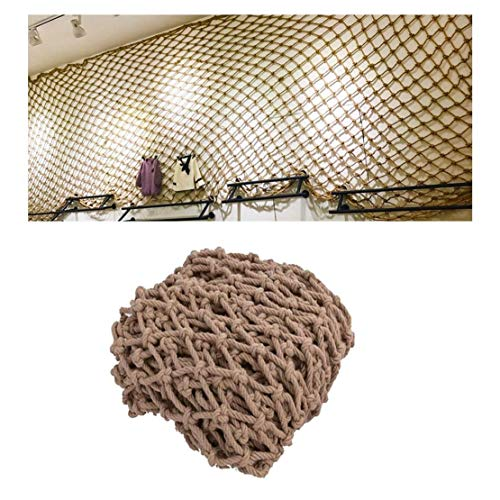 STTHOME Child Safety Net Protection Climbing Frames Child safety nets, climbing stairs balcony railing to protect cargo trailer woven rope netting, children's playground decorative mesh 2 * 3m