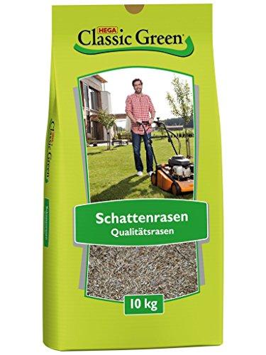 Classic Green Rasensaat Schattenrasen Rasensaat 10kg   Grassamen   Rasensamen 10kg   Premium Rasensaat   Rasensaat Schattenrasen   Rasensaatgut   Rasensaat schattig   schattige Standorte