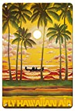 Pacifica Island Art Prints Poster, Motiv Hawaii – Fly