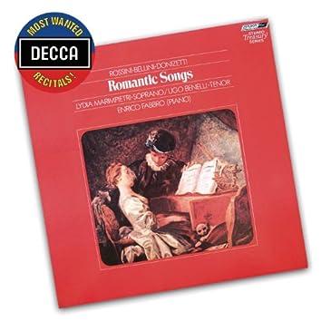 Romantic Songs By Rossini, Bellini & Donizetti