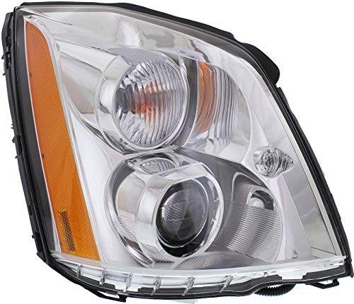 Evan-Fischer Headlight for Cadillac DTS 06-11 Right Assembly HID W/HID Kit