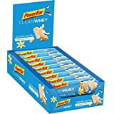 PowerBar Clean Whey Vanilla Coconut Crunch 18x45g - High Protein Low Sugar Riegel -