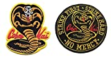 Karate Kid Cobra Kai - Juego de 2 parches bordados
