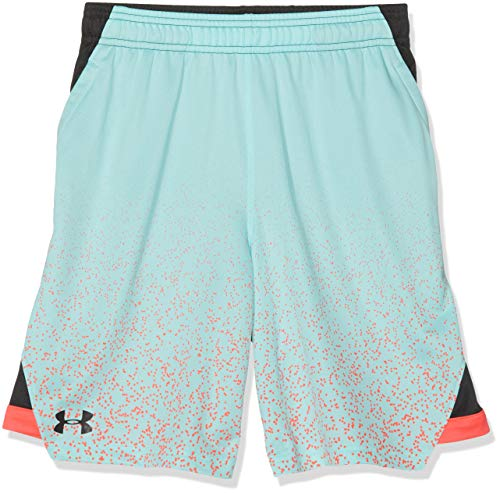 Under Armour Kinder SC30 Kurze Hose, Grün, YSM