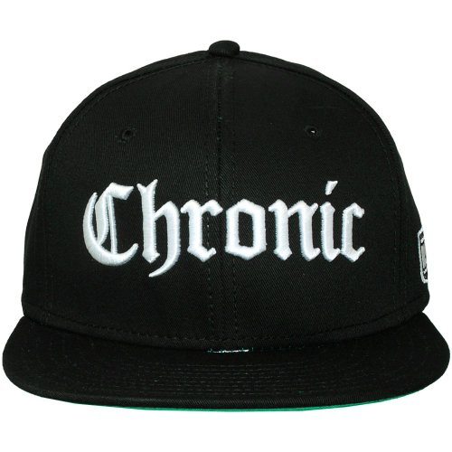Space Monkeys - Casquette Snapback Homme Chronic Snapback Cap - Black
