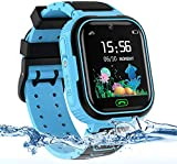 AOYMJRS Kids Smart Watch for Boys and Girls,Smartwatches with Phone Waterproof GPS/LBS Tracker SOS Voice Chat Two Way Calls Alarm Clock Game Camera Kids Watch for 3-12 Years Christmas Birthday Gifts