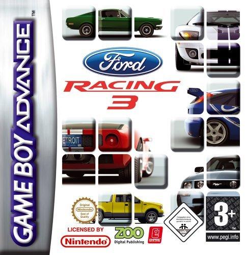 NINTENDO GBA0709 GAME BOY FORD RACING 3