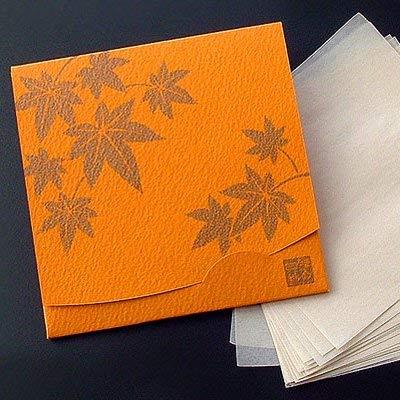 季節の花 もみじ 「絹すき」 方形サイズ