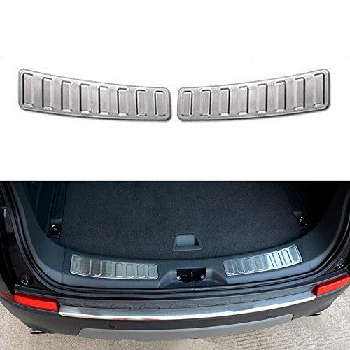 2Edelstahl Auto hinten innen Tür Bumper Displayschutzfolie Sill Scuff Plate Trim für Discovery Sport 201520162017