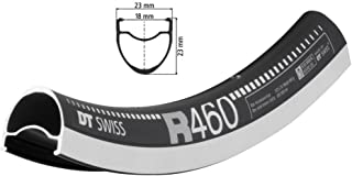 DT Swiss R 460 Rim 700C ISO 622 32H Double wall Pinned Presta Black