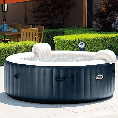 comparateur INTEX PureSpa Bubble et LED Bleu Foncé 6 places 216 x 71 cm