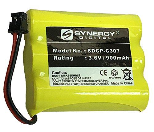 Synergy Digital Cordless Phone Battery - Replacement for Radio Shack 23-895 Cordless Phone Battery