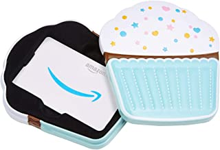 Amazon.com.au Gift Card for Custom Amount in a Birthday Cupcake Tin