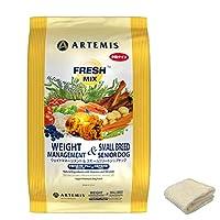 アーテミス・フレッシュミックス (ウェイトマネージメント& スモールシニア) (小粒) 6kg +プレゼント(マイクロファイバータオル・イエロー)
