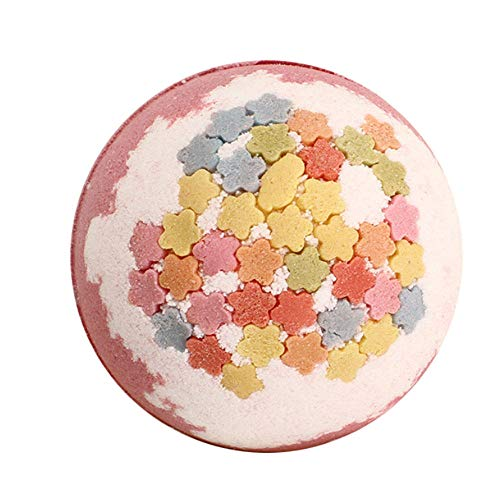 Baignoire Boule Baignoire Ciel Étoilé Baignoire Bain Sel Bulle Bombe Explosion Bain Moussant Pop Enfants Bath-Rose Fleur De Cerisier