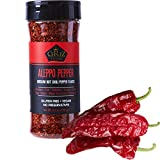 Cerez Pazari Aleppo Pepper Moderate Heat | 5.29 oz - 150 gr | Crushed Turkish Red Chili Pepper-Aleppo Chili Flakes,Maras Chili Pepper | Halaby Pepper | Syrian Pepper | Middle Eastern Red Pepper | Product of Turkey