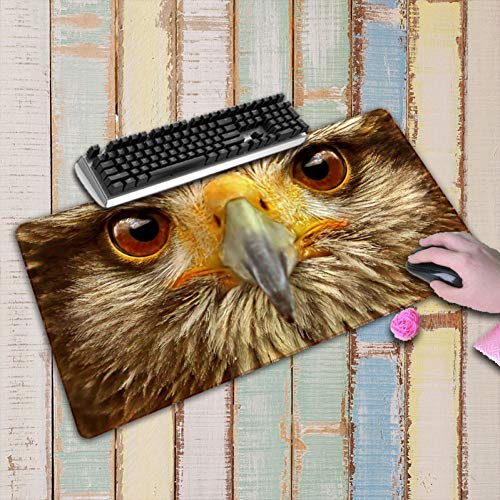 LMENG Mouse Pad Animal Large Office Mouse Pad Game Gamer Gaming Mousepad Keyboard Mat Compute Desk Cushion for Tablet Pc