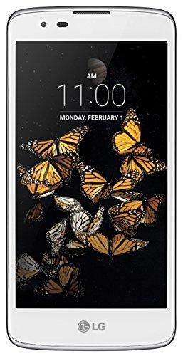 LG K8 Smartphone (12,7 cm (5 Zoll) Touch-Bildschirm, 8 GB interner Speicher, Android 6.0) weiß