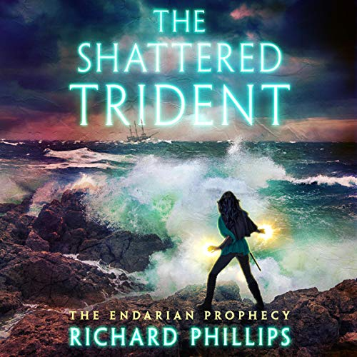 The Shattered Trident audiobook cover art