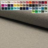 Jersey Stoff Uni Oeko-Tex Meterware ab 25 cm - einfarbiger