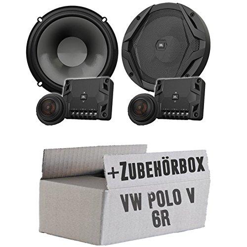 JBL GX600C   2-Wege   16,5cm Lautsprecher System - Einbauset für VW Polo 6R Front Heck - JUST SOUND best choice for caraudio