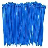 intervisio Bridas de Plastico para Cables 200mm x 4,8mm / Color Azul / 100 Piezas