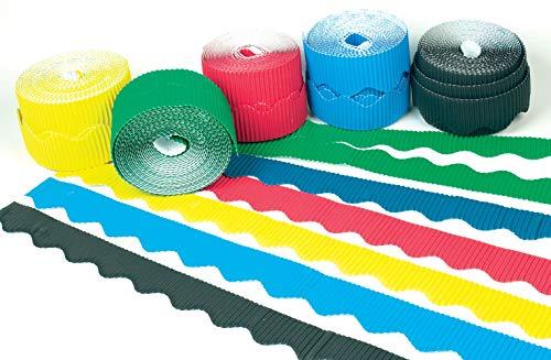 Baker Ross decoratieve golfranden, golfkarton, verpakking met 6 rollen