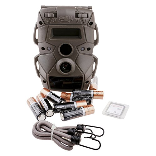 Cloak 12 Lightsout Wildgame Innovations 12mp trail Game Camera with Batteries and 8mp SD Card