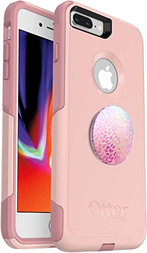 Bundle: OtterBox COMMUTER SERIES Case for iPhone 8 PLUS & iPhone 7 PLUS (ONLY) – (BALLET WAY) + PopSockets PopGrip – ...