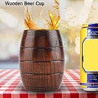 耐久性のある木製マグカップ、木製カップ、カフェショップレストランバーホーム用