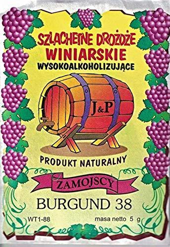 Hugbert Weinhefe, Nährstoff Klärungsmittel für Wein, 100% natürlisches Produkt Gärhefe