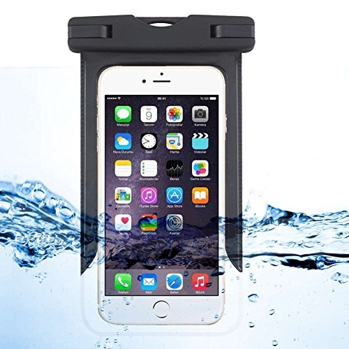 Funda impermeable para iPhone 6/6s, iPhone 6/6s Plus, iPhone 6/6S Plus, iPhone 6SE, teléfonos Samsung, etc. Resistente al agua, al polvo, a prueba de nieve para teléfono móvil de hasta 6 pulgadas.