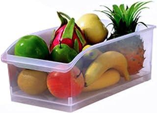 Boîte de rangement pour réfrigérateur Boîte de rangement en plastique multifonctionnelle Aliments / légumes / Fruits Organ...
