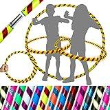 Pro Kids Hula-Hoop für junge Erwachsene und Kinder! (10 Farben Ultra-Griff / Glitzer-Deko)...