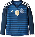 adidas Kinder DFB Torwart-Heim Langarm-Trikot, Trace Royal/Sub Blue/White, 164