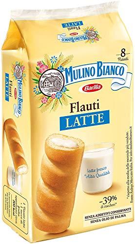 3x Mulino Bianco Kuchen mit Latte Milch Flauti 8x 35g kekse riegel milk snack