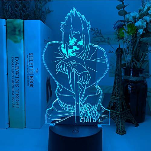 3D Lampe Baby Figur Nachtlicht für Zuhause Schlafzimmer Dekor Kinder Kind Geburtstagsgeschenk Acryl RGB Led Nachtlicht-DM 26_7 Farben keine Fernbedienung