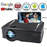 Wireless Projector 2800 Lumen, WEILIANTE WiFi LCD Movie Projector...