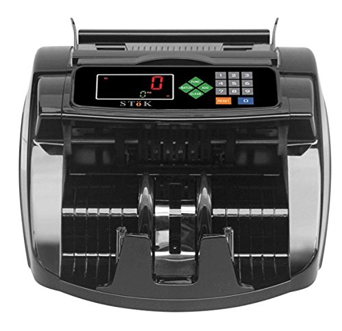 Stok Compatible with Old and New Indian Notes Counting Machine with Fake Note Detector with LCD Display and Beep Function