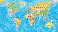 DSJHK パズルジグソージグソーパズルパズル世界地図油絵ジグソーパズル1000ピース木製パズル教育玩具絵画アートデコレーション